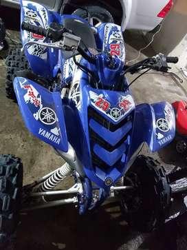 Cuadron Yamaha raptor 660