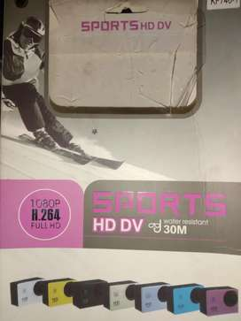 Vendo cámara sport full HD