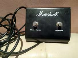 Footswitch Marshall Clean Overdrive