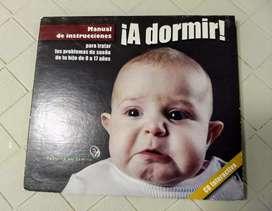 """CD de lectura """"A dormir"""" - Manual de instrucciones. Bebés, niños y adolescentes. Poco uso"""
