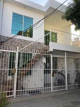 Se vende casa q costa de 2 apartamentos imdependientes con todos sus acabdos