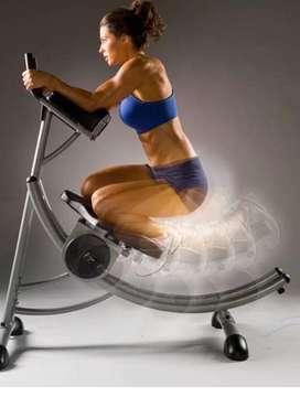 Ab coaster maquina de abdominales