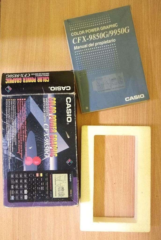 Manual Casio Fx 9850g 0