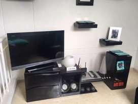 Mueble para tv y repisas