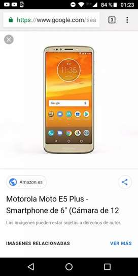 LIQUIDO MOTO E5 PLUS LIBRE IMPECABLE