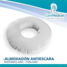 Almohadón Antiescaras Redondo Aro - Forlano - Ortopedia Care Medical