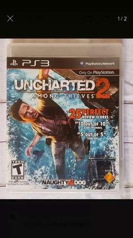 Uncharter 2 ps3