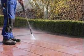 limpieza y adecuación de exteriores