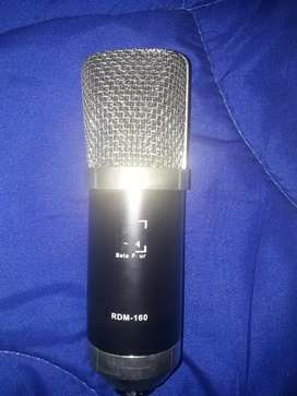 Micrófono de Condensador RDM - 160 Beta Four Con Tripode