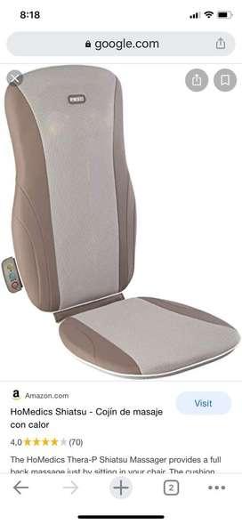 Vendo asiento masajeador