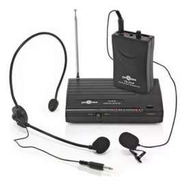TAKSTAR TS331P Microfono de diadema inalámbrico con transmisor Vhf