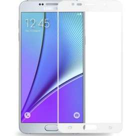 Vidrio Screen Note 5 Color Blanco