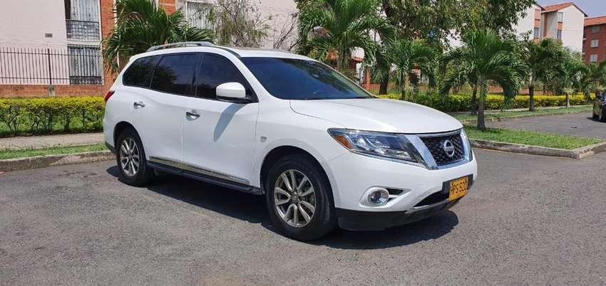 Nissan Pathfinder 2014 Full Equipo Cuero 0