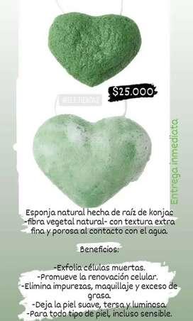 Esponja konjac love nature
