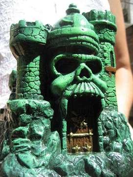 Castillo De Grayskull, Motu, Escultura 16cm, He-man, Heman