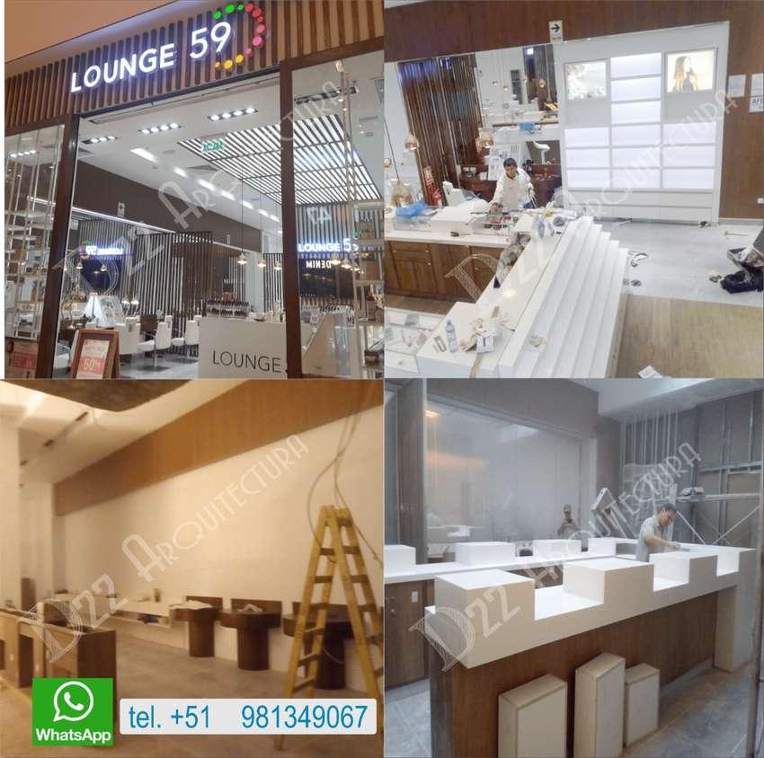 isla comercial modulos proyectos integrales tiendas, estructuras, muebles retail y acabados en general 0
