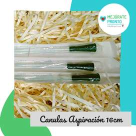 Canula Aspiracion Secreciones16cm