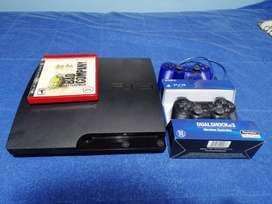 TV + Ps3 + 2 controles y un juego