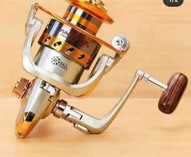 Carretal para pesca en aluminio