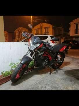 Moto axxo 200cc  como nueva y modificada no la uso para nada