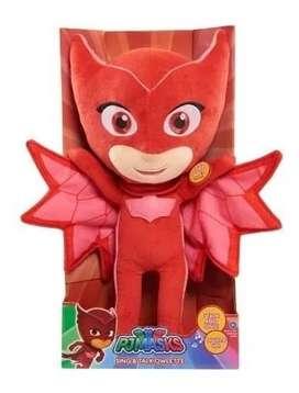 Pj Masks Peluches 35 cm con luz y sonido Héroes en Pijamas