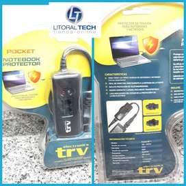 Protector Automático de tensión para notebook y netbook TRV.