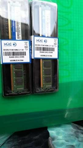 Memoria ram de 8gb DDR3