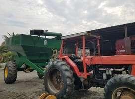 Venta de tractor agrícola Zetor 120 y boelter 15000