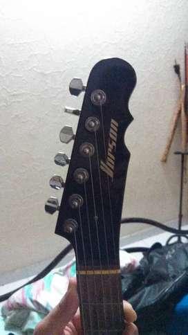 Vendo o cambio guitarra eléctrica de marca vorson