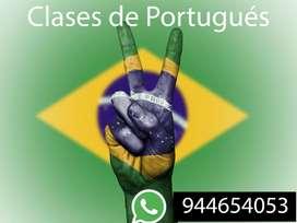 CLASES DE PORTUGUÉS VIRTUALES - TRABAJOS- EXÁMENES- TRADUCCIONES- PIURA-944654053
