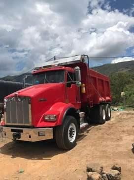 Volqueta doble troque kenworth