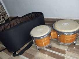 Bongos nacionales /percusión Perez/ incluye estuche semiduro