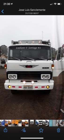 Se vende Camion Hino Ky todo original caja de 10 velocidades