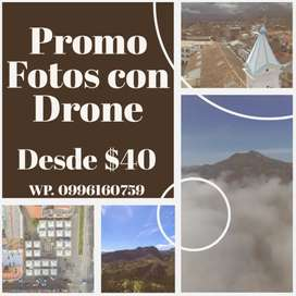 Drone fotografia y video