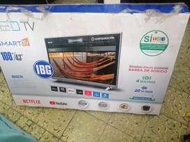 Se vende smart TV de 43 pulgadas marca nacional