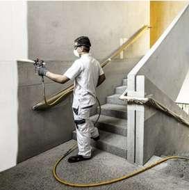Pintamos rejas,portones,estructuras,paredes