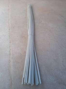 Caños de pvc para instalacion electrica de 3/4. Largo 3m