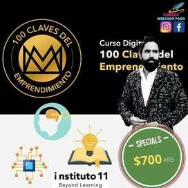 CURSO 100 PREGUNTAS CLAVES DEL EMPRENDIMIENTO + E-BOOK CARLOS MUÑOZ