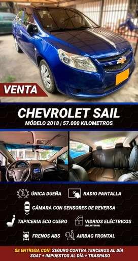 Venta chevrolet sail usado 2018