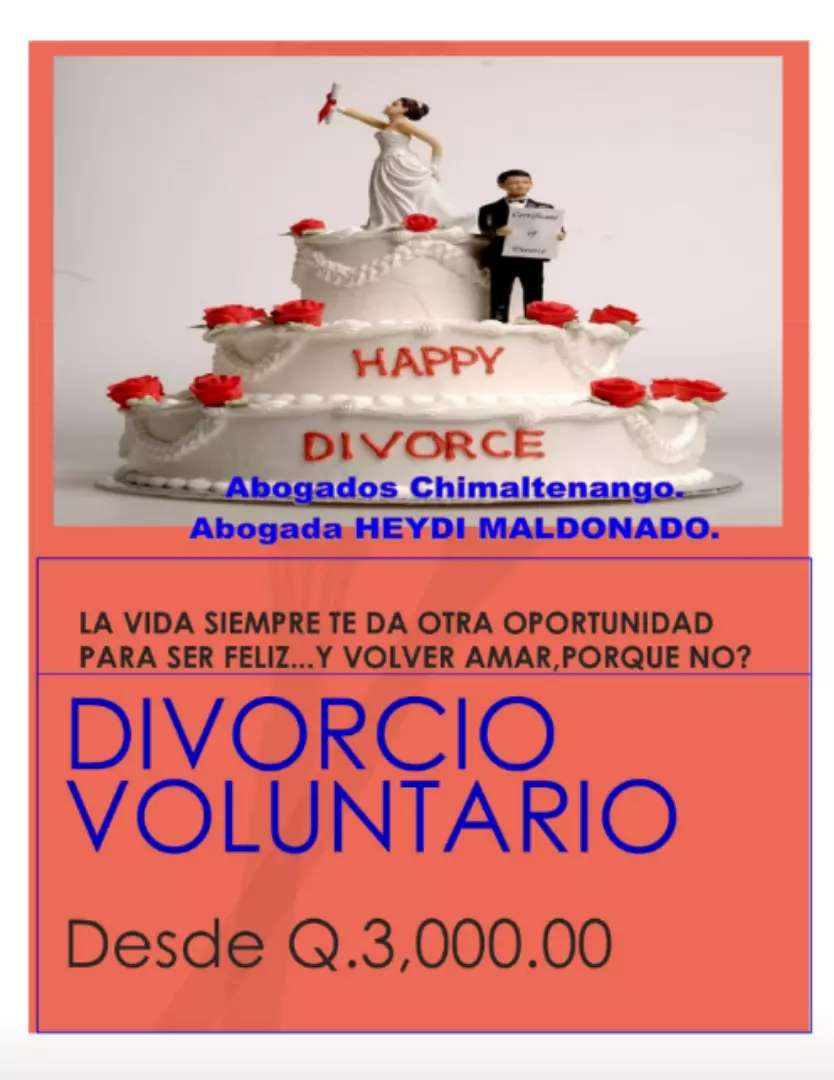 DIVORCIO VOLUNTARIO FACIL Y RÁPIDO. 0