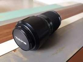 Lente Tokina 100-300 mm para Nikon