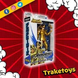 Figura de Sagittarius Aiolos Saint Seiya Anime Heroes Bandai Caballeros del Zodiaco