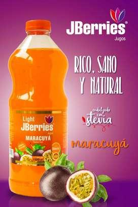 Jugos Berries con Stevia y libre de TACC