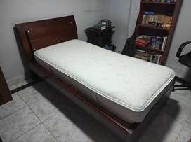 Cama sencilla + colchón