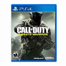 Call Of Duty Infinite Warfare Ps4 fisico