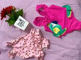 Vestidos de baño hermosos y super tiernos para bebè