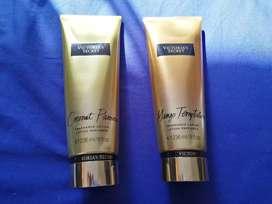 Remato Fragrance Lotion Victoria's Secret, 55 soles cada una