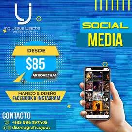 Diseñador Gráfico - Diseño Gráfico, Web, Edición de Video y Manejo de Redes Sociales(Facebook e Instagram)