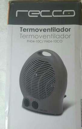 Calentador de Hambiente Y Ventilador .
