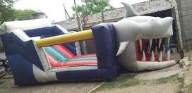 Inflable Tiburon 7x4